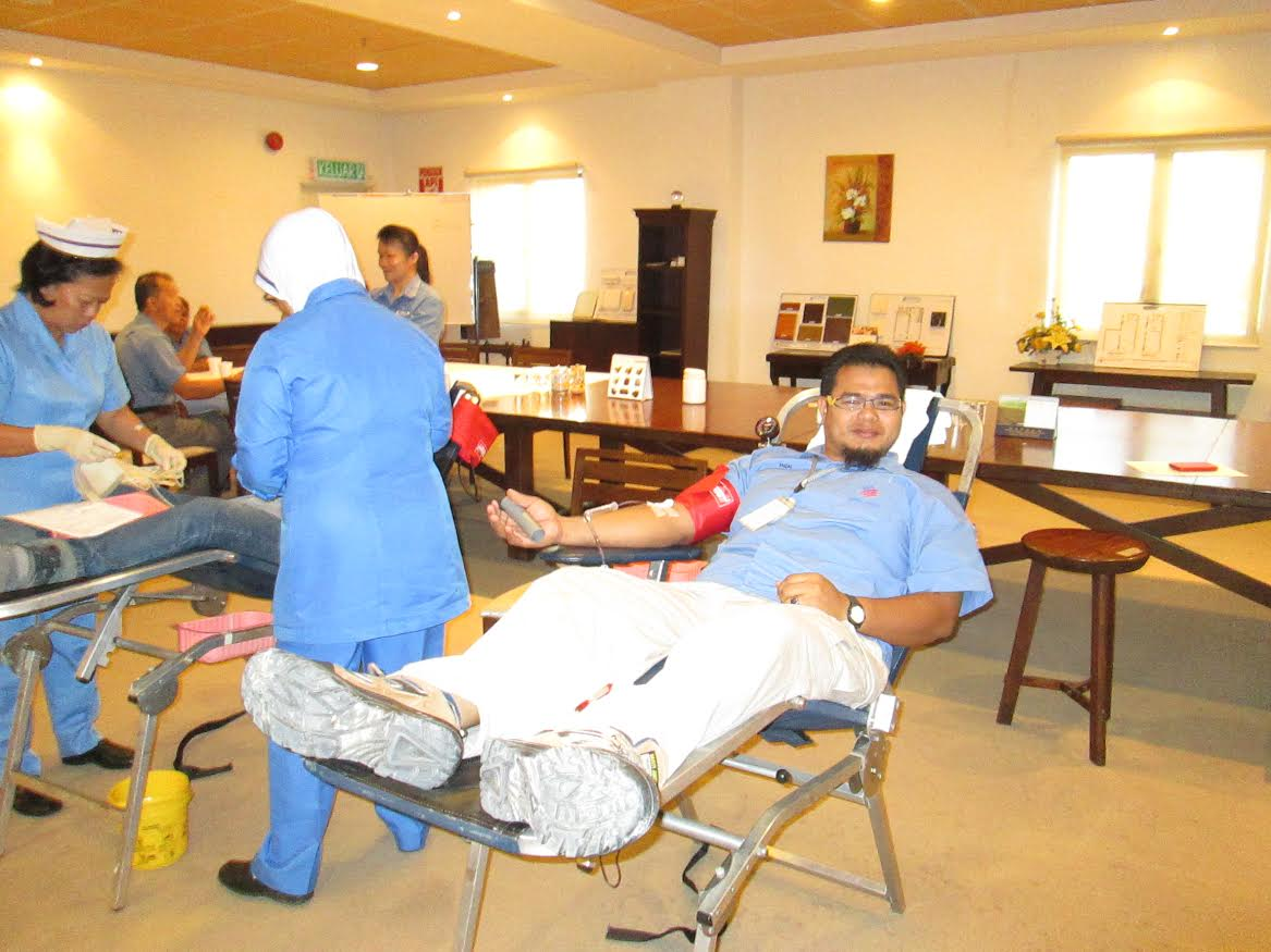 Blood Donation for Hospital Tunku Jaafar